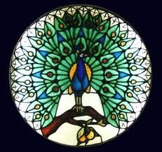 Peacock Stained Glass tattoo-heaven