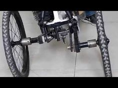 A two-wheeled vehicle such as bicycle and motorcycle tilt in the turn to counter the centrifugal forces acting on the vehicle, while other vehicles including. Trike Bicycle, Recumbent Bicycle, Cargo Bike, Mini Jeep, Electric Trike, Future Transportation, Reverse Trike, Fat Bike, Concept Cars