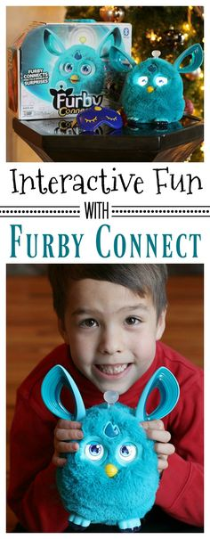 Looking for the must-have toy that will light up their faces on Christmas morning? We think we've found it with #FurbyConnect! Find out more! #IC #ad