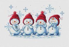 1 million+ Stunning Free Images to Use Anywhere Snowman Cross Stitch Pattern, Xmas Cross Stitch, Cross Stitch Christmas Ornaments, Cross Stitch Borders, Christmas Cross, Cross Stitch Charts, Counted Cross Stitch Patterns, Cross Stitch Designs, Cross Stitching