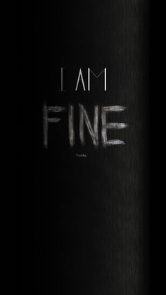 I Am Fine Thanks Angry iPhone 6 Wallpaper, I Am Fine Thanks Angr. - I Am Fine Thanks Angry iPhone 6 Wallpaper, I Am Fine Thanks Angry iPhone 6 Wallpape - Iphone 6 Wallpaper Backgrounds, Iphone Wallpaper Glitter, Sad Wallpaper, Wallpaper Downloads, Screen Wallpaper, Wallpaper Quotes, Typography Wallpaper, Desktop Wallpapers, Cellphone Wallpaper