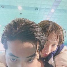 Lee Sung Kyung Posts A Selfie Of Her Piggyback Riding Nam Joo Hyuk   Koogle TV