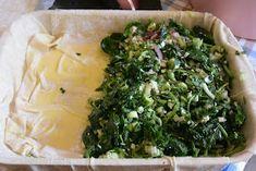 ΜΑΓΕΙΡΙΚΗ ΚΑΙ ΣΥΝΤΑΓΕΣ: Σπανακόπιτα απίθανη !!! Bechamel Sauce, Greek Recipes, Seaweed Salad, Palak Paneer, Sauce Recipes, Cabbage, Vegetables, Ethnic Recipes, Food