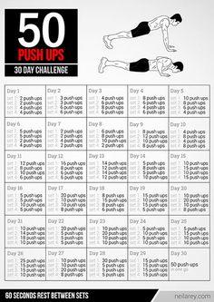 50 Push Ups Challenge - healthandfitnessnewswire.com