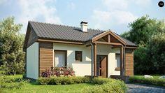 Проект невеликого одноповерхового економного будинку   Архітектурне бюро Dom4M в Україні