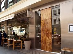 My favourite restaurant - Roka, Charlotte Street, London.