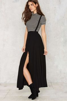 Suspender Your Disbelief Maxi Skirt | Shop Clothes at Nasty Gal!