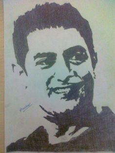 Amir Khan: Mr. Perfectionist - Creative Art in Sketching by Bhaskar Kothari in Portfolio My Art Work at Touchtalent