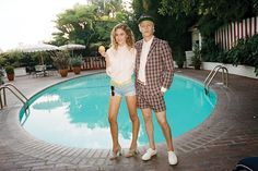 Maison Kitsuné Spring/Summer 2013 Lookbook. Shot at hotel Chateau Marmont by Brad Elterman and art directed by Andre Saraiva