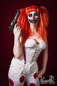 Female  Sweet Tooth from Twisted Metal