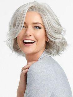 Grey Hair Wig, Lace Hair, Blonde Hair, Purple Hair, Brown Hair, Grey Hair Over 50, Long Gray Hair, Ombre Hair, Frontal Hairstyles