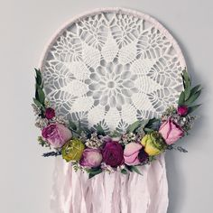 A personal favorite from my Etsy shop https://www.etsy.com/ca/listing/487244162/dried-flower-dreamcatcher-boho