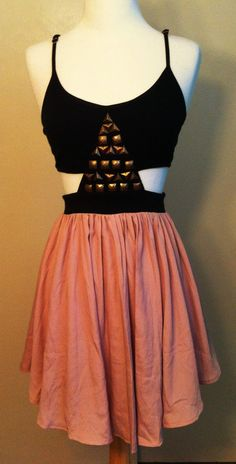 Size Small Gold Black Bronze And Light Pink by jukeboxglitter, $50.00