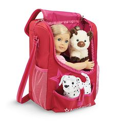 American Girl® Accessories: Doll & Pet Carrier