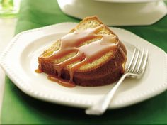 Brown Sugar Cake with Rum-Caramel Sauce