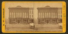 Jacksonville: Cassell & Loar Groceries, showing their delivery wagons out front. Jacksonville Illinois, New York Public Library, Postcards, Vintage World Maps, Collections, Delivery, Explore, History, Digital