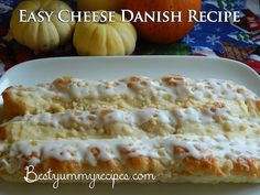 Easy Cheese Danish-1 (8 ounce) package of cream cheese, softened     1/2 cup white sugar     1 teaspoon vanilla extract     3 tablespoons all-purpose flour     1 tube of crescent rolls (original flavor)     1/2 cup vanilla frosting (I used Betty Crocker), for the icing on the cheese danish