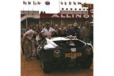 24 heures du Mans 1963 - Lola-MK6 GT #6 - Pilotes Richard Attwood / David Hobbs - Abandon Le Mans, Slot, David Hobbs, Garage, Monogram, Racing, Cars, Carport Garage, Running