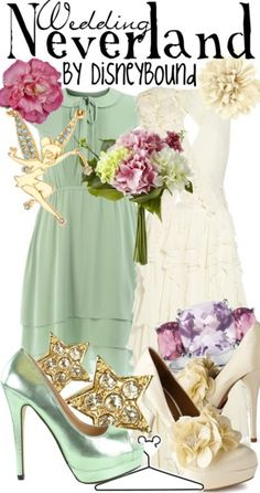Wedding Neverland by Disney Bound  Fashion Disney Outfit  Peter Pan