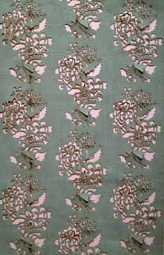 Laser cut. Rococo inspired floral wallpaper