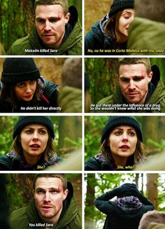 Arrow - Oliver & Thea #3.14 #Season3 #TheReturn