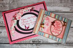Makins Clay roses, Imagine crafts Inks, Rinea Foils