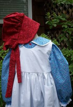 Girls Pioneer Dress Long Or Short Sleeves Little House On The