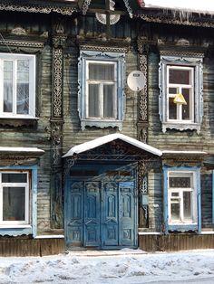The old house in Irkutsk