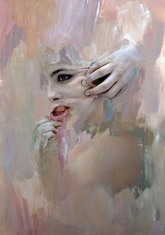 actegratuit: mixed media paintings and... | AFA - art for adults