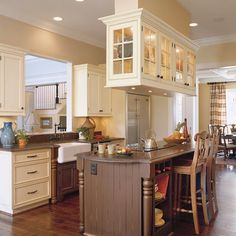 Antique-White Kitchen - Kitchen Inspiration - Southern Living