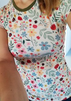 Summer Flowers, Floral Tops, Women, Fashion, Moda, Women's, Fasion