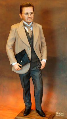 Кукла выполнена по фотографии портретная кукла скульптура ливингдолл работа вживление волос на юилей подарок люди у которых все есть чем удивить вип подарок элитный презент подарок на все случаи жизни портретная кукла