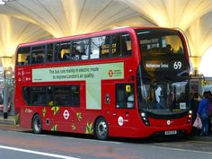 According to London Vehicle Finder, one of the Virtual Electric buses for route 69 was last seen on February I don't know what's happened. Hulk, London Transport, Public Transport, Routemaster, Buses And Trains, Nissan Leaf, Double Deck, Bus Coach, American Motors
