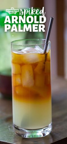 This boozy Spiked Arnold Palmer is made with my homemade sweet tea vodka, and is soon to be your new favorite nice-weather drink. Fruit Drinks, Drinks Alcohol Recipes, Yummy Drinks, Drink Recipes, Vegan Kitchen, Kitchen Recipes, Curry Recipes, Vegan Recipes, Sweet Tea Vodka