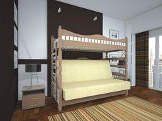 Мини детская на двух квадратных метрах: функциональные кровати-чердаки и советы родителям по безопасности двухъярусных кроватей.