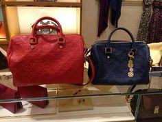 Louis Vuitton Speedy Empreinte 30 and Speedy Empreinte 25