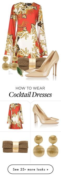"""""""November"""" by vingananee on Polyvore featuring Just Cavalli, Joanna Maxham, Gianvito Rossi and Marco Bicego"""