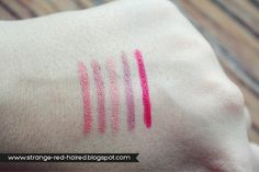 elf Studio Matte Lip Colors : Coral- Natural - Nearly Nude - Tea Rose - Rich Red