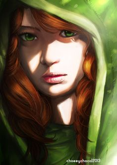 The light shade of this is remarkable. ~Windrunner ~Dota 2 ~By Chooeychoco