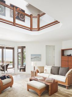 Coastal - Living room - Images by Floss Barber Inc. | Wayfair