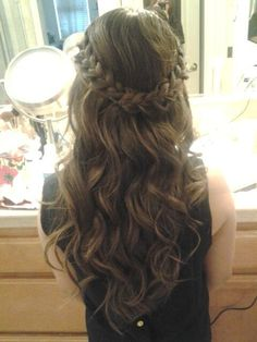 How I want to do my hair for prom!