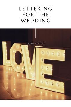 Light up Names & LOVE by LAvenueStudio. Wedding oversized lighting decoration for indoor and outdoor. Personalized Light up Names. Custom led letters & Big number lights for event, wedding, the birthday of baby, kids and adults, anniversaries and other party