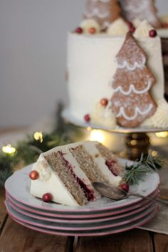 KakkuKatri: Piparkakkuinen joulukakku Panna Cotta, Cake, Ethnic Recipes, Desserts, Christmas, Food, Tailgate Desserts, Xmas, Dulce De Leche