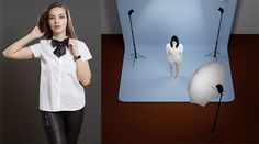 Three-Point Lighting Setup for Less Than $500 Photography Lighting Setup, Lighting Setups, Photography Gear, Light Photography, Outdoor Lighting, Three Point Lighting, Home Studio Setup, Types Of Portrait, Camera Rig