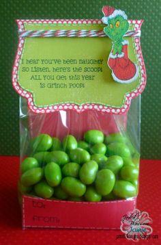 Created by Jamie using Christmas Poop, Fancy Topper Die and gusset bag. http://jadedblossom.bigcartel.com/