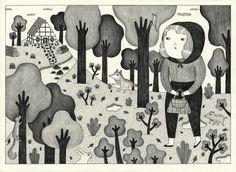 ROODKAPJE by Ana Albero