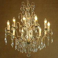 A look at the elegance and sophistication of chandeliers, which comprise some of my favourite components - glass, light, shine and bling. Luscious indeed!