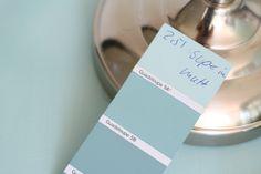 mein Feenstaub – DIY, Deko und Rezepte: DipDye-Lampe und Mint-Schlafzimmer