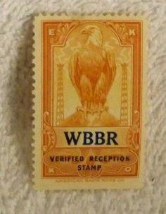 Watchtower Radio Station WBBR stamp.