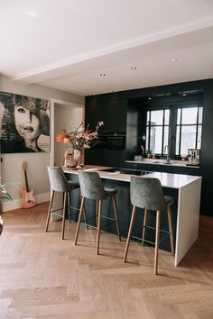 Home Design, Home Interior Design, My Kitchen Rules, New Kitchen, Happy New Home, Dining Room Inspiration, Love Home, Modern Kitchen Design, Home Living Room